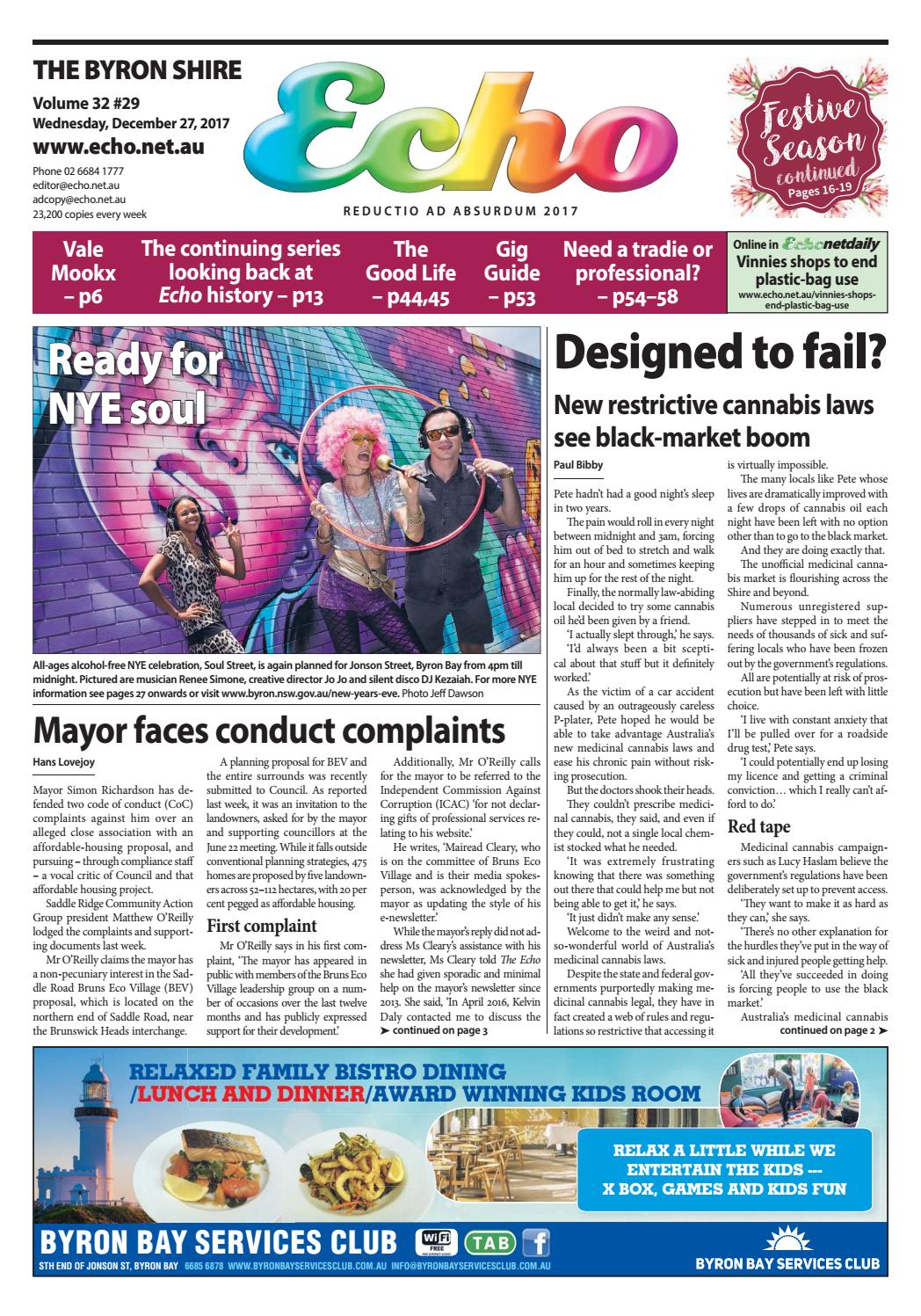 36f32887818 The Byron Shire Echo – December 27