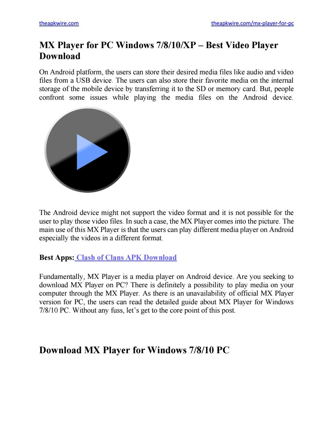 Top 3 free hd video players for windows 7 free download.