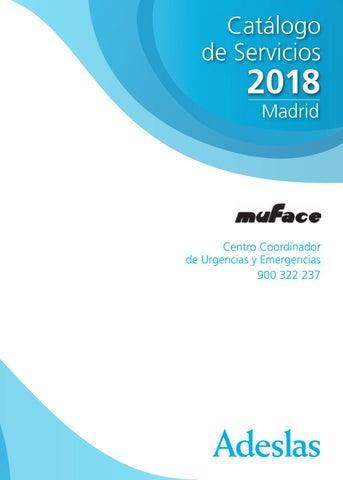 Muface 2018 By Oac Adeslas Madrid Torrelodones Issuu
