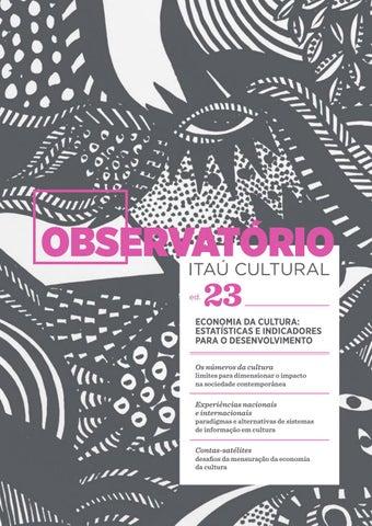 c4de8eb45a Observatório 23 - Economia da Cultura  Estatísticas e Indicadores ...