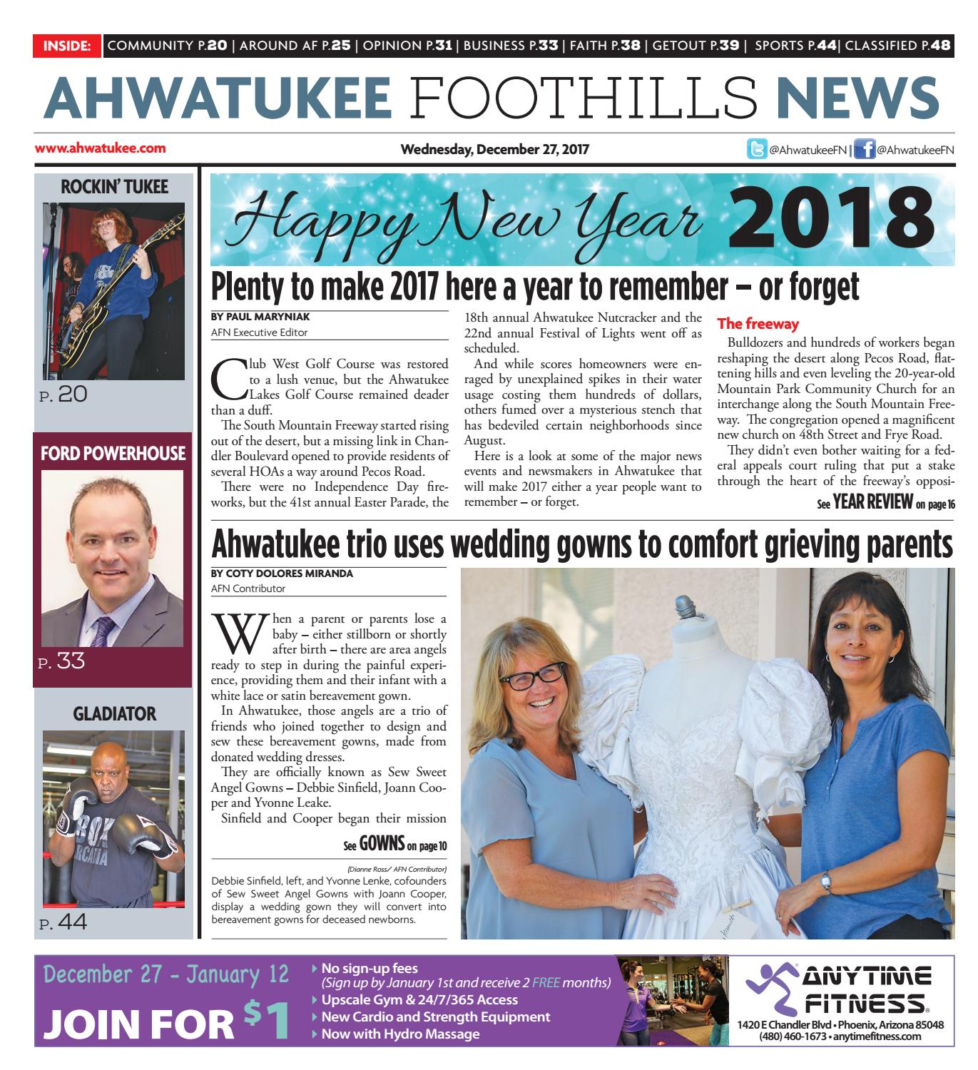 Ahwatukee Foothills News - December 27, 2017 by Times Media Group ...