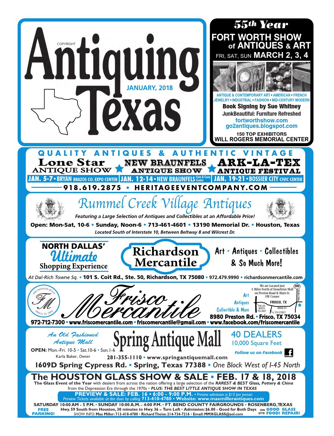 Ant tx upload 1 18 by Antiquing Texas - issuu