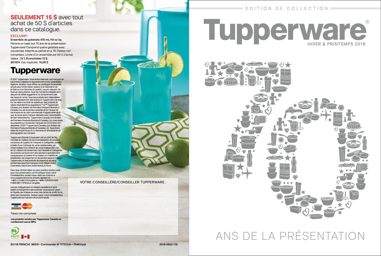Catalogue Tupperware Printemps 2018 By Caroline Schoofs