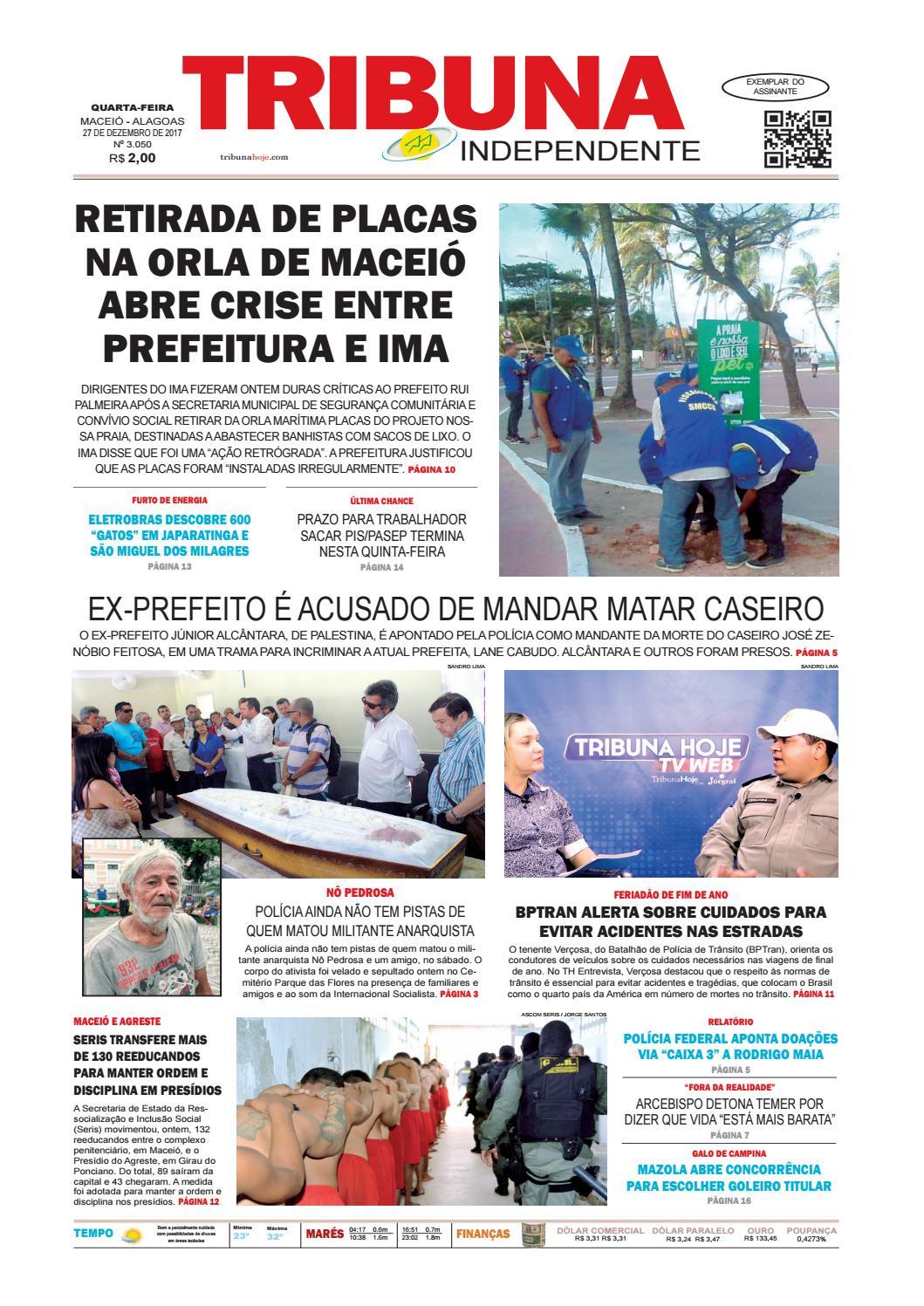 Edição número 3050 - 27 de dezembro de 2017 by Tribuna Hoje - issuu a963c2f69e273