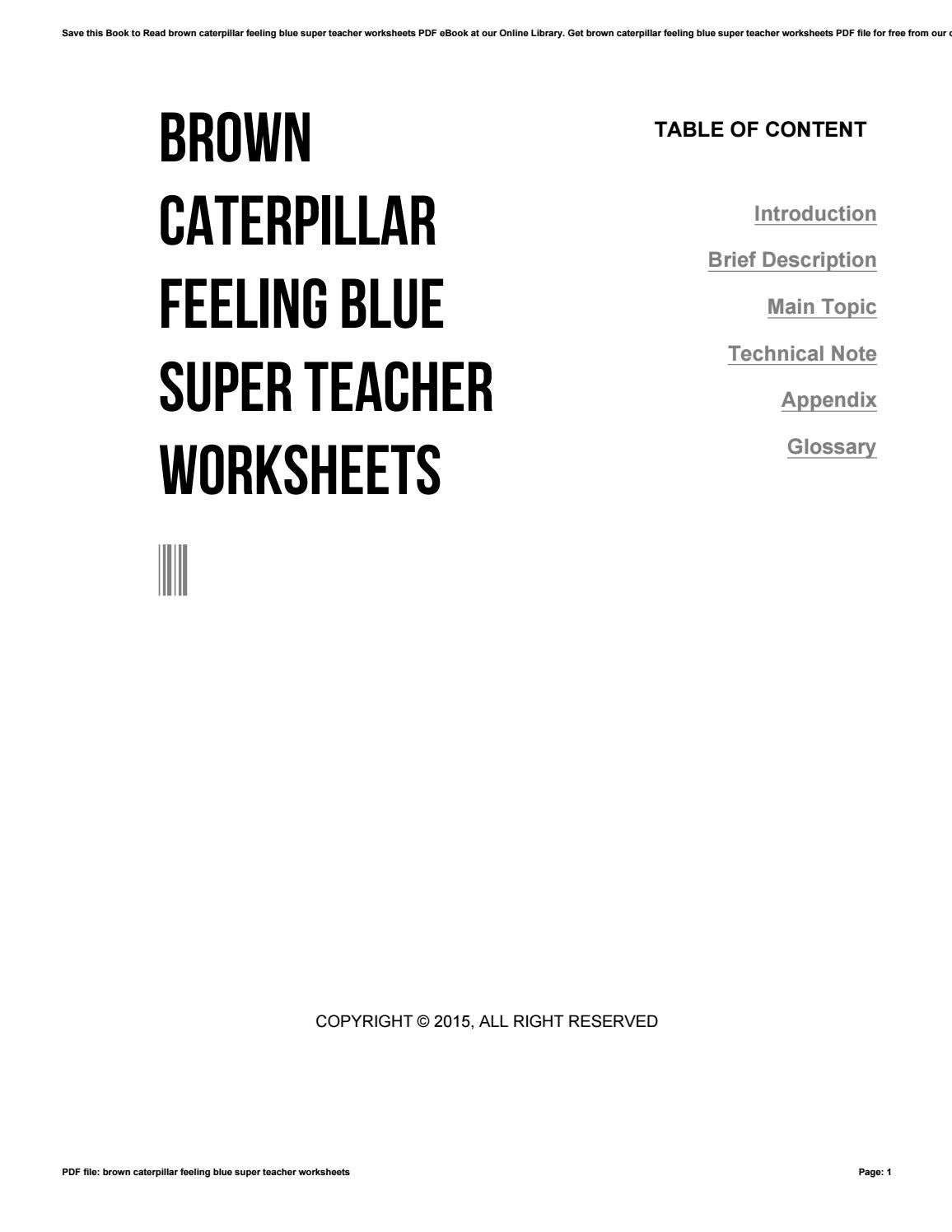 Modern Super Teacher Wo Component - Worksheet Math for Homework ...