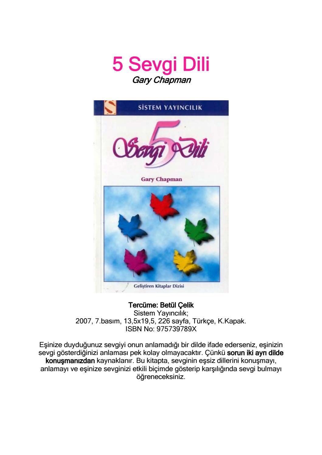 5 Sevgi Dili Garry Chapman By M Sahin Cil Issuu