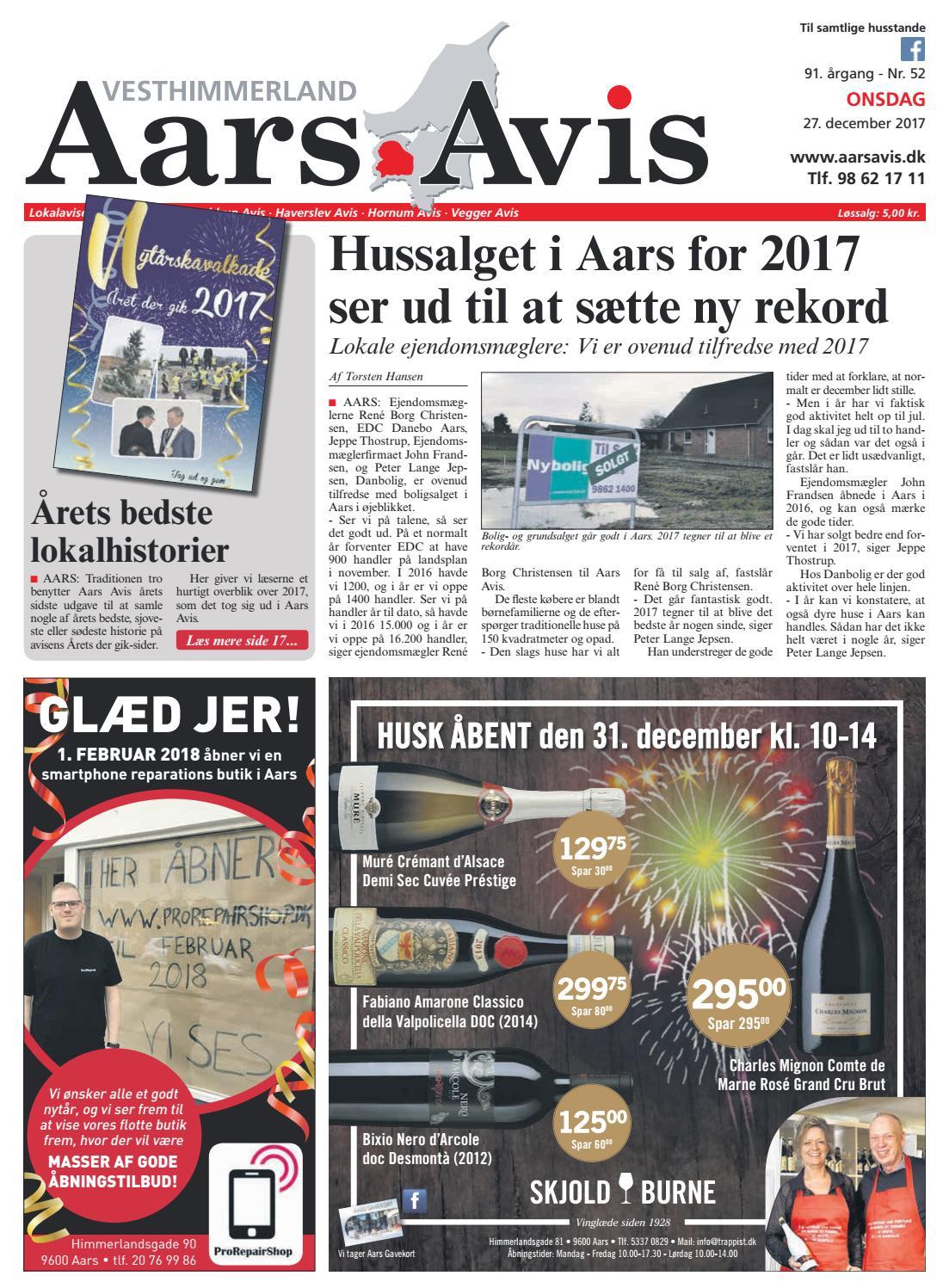 c9a782984e5 Aars Avis nr. 52 - 2017 by Aars Avis - issuu