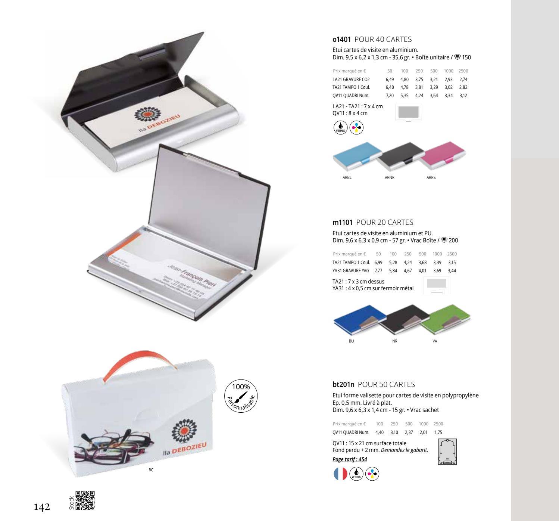 Catalogue General Avec Prix 2018 By Les Objets Publicitaires