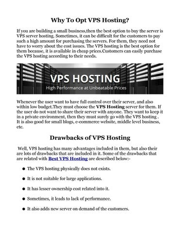 Best vps hosting by MicroHost - issuu