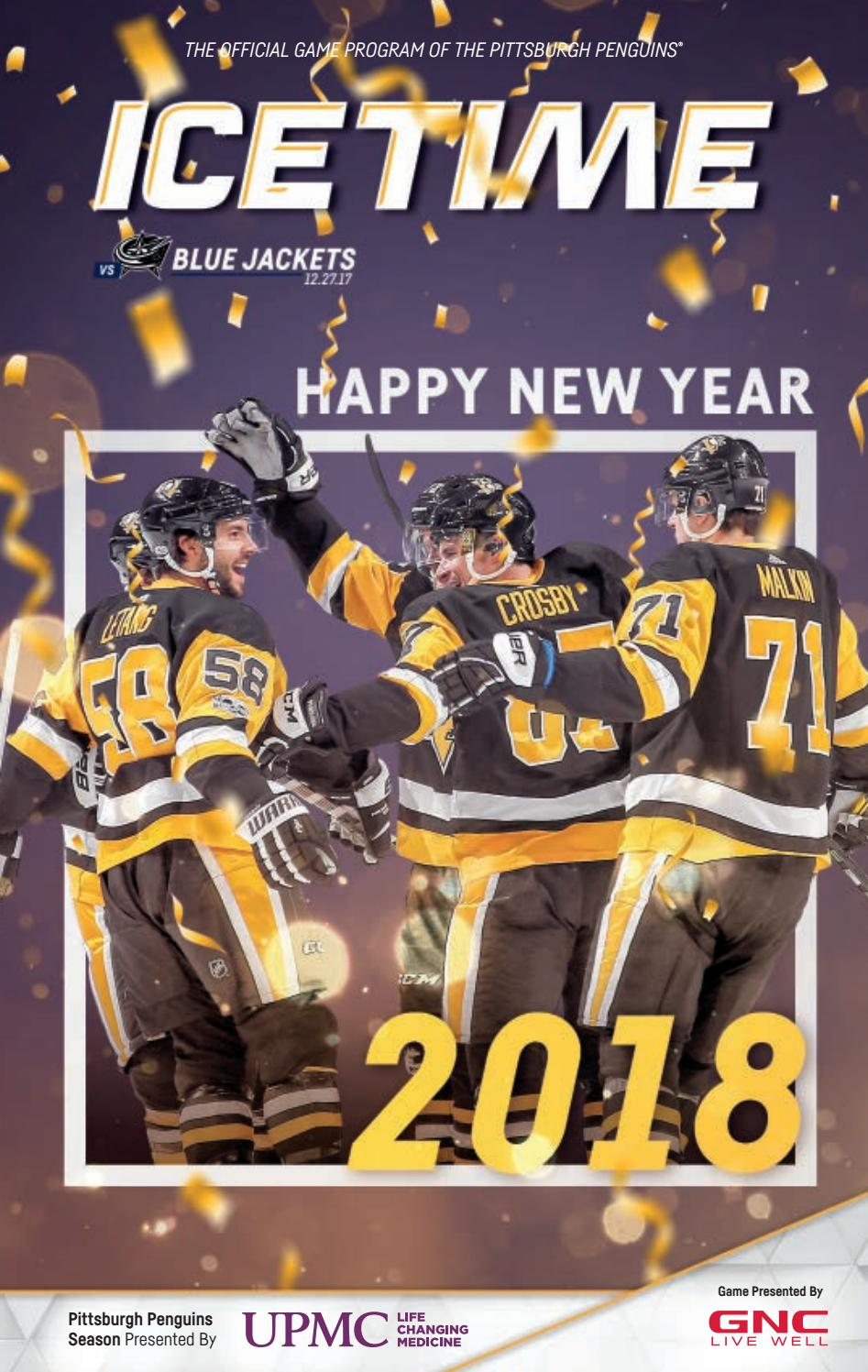 1947254ab IceTime - Game 19 vs. Columbus Blue Jackets 12.27.17 by Pittsburgh Penguins  - issuu