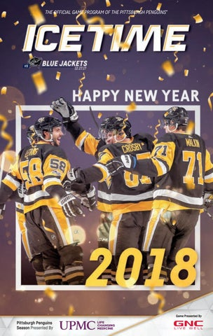 639f5cc31 THE OFFICIAL GAME PROGRAM OF THE PITTSBURGH PENGUINS® PITTSBURGH PENGUINS  VS. COLUMBUS BLUE JACKETS • 12.27.17 • GAME 19.