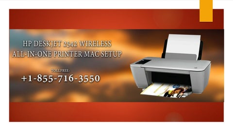 HP DeskJet 2542 Wirless All-in-One Printer Setup and