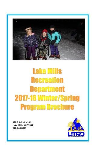 Lmrd winter spring program brochure 2017 18 final 1 2