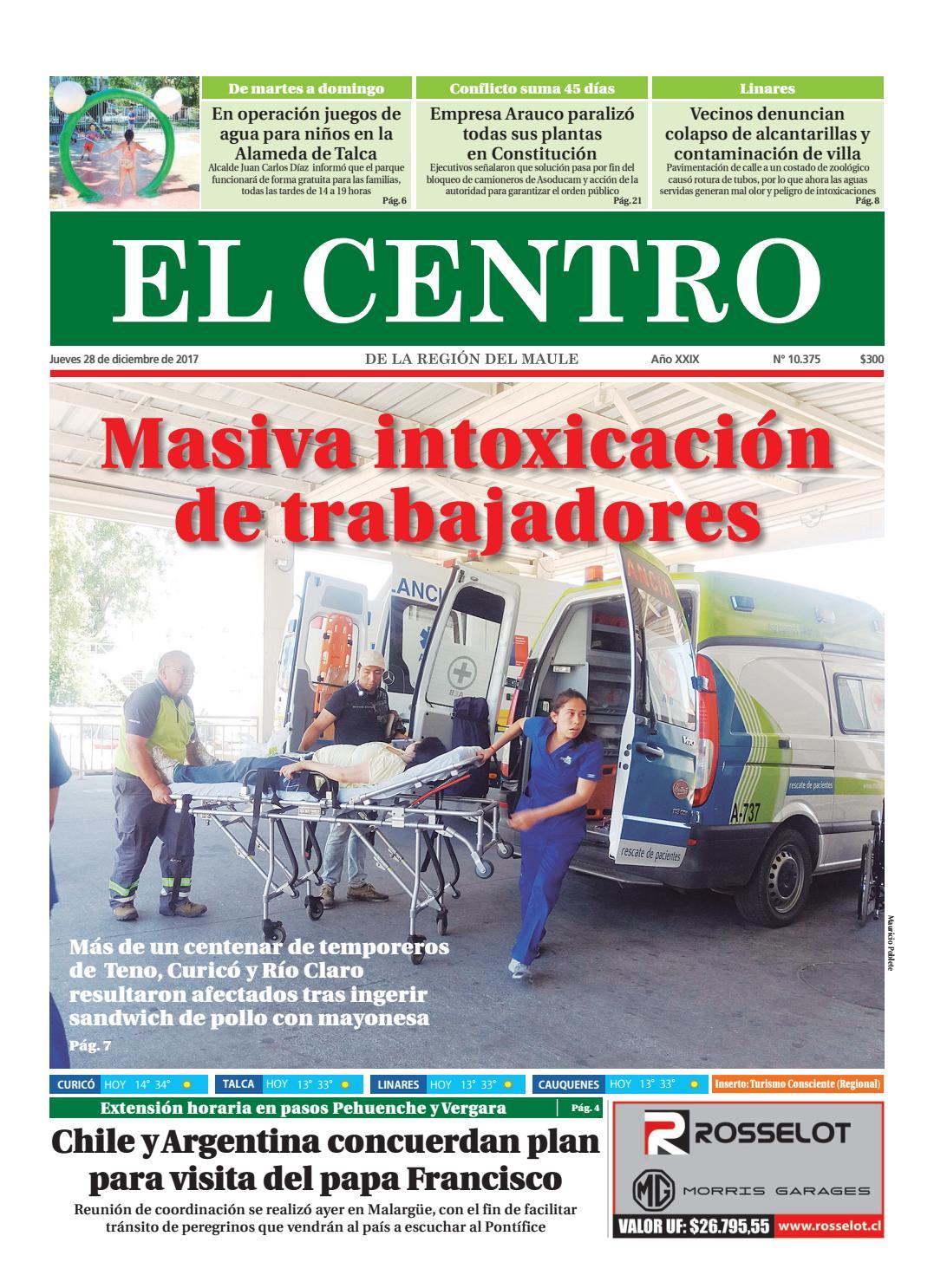 Diario 28 12 2017 by Diario El Centro S.A - issuu