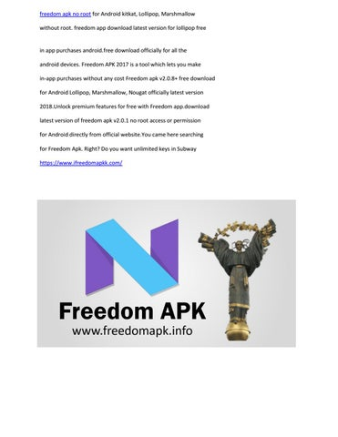 Freedom apk no root