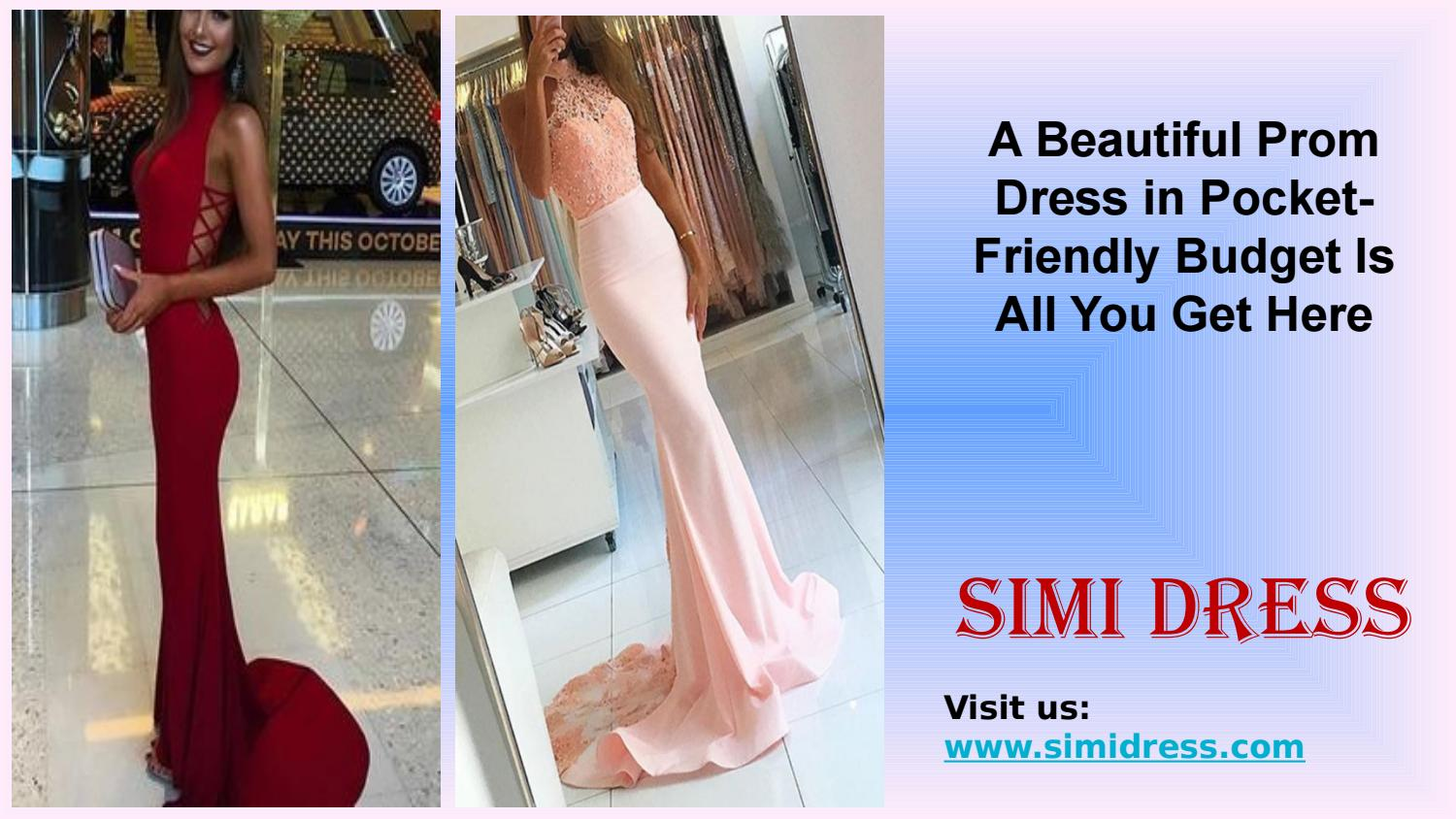 73b500127 A beautiful prom dress in pocket friendly budget is all you get here by  Simi Dress - issuu