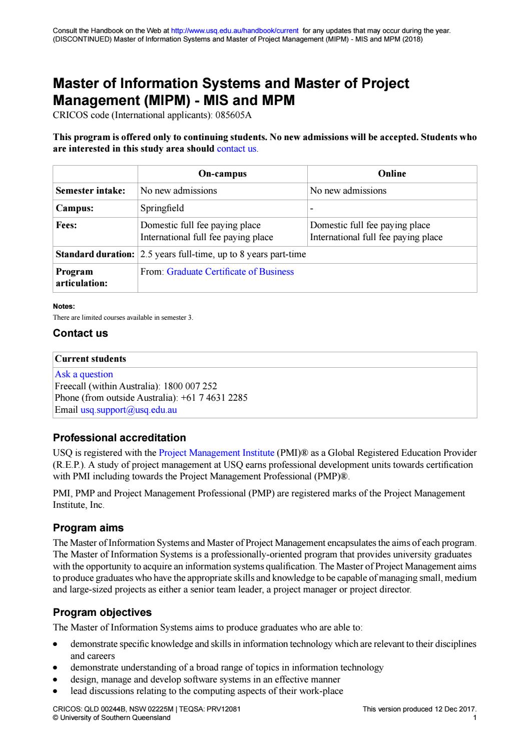 Study Master In Project Management In Australia By Newedgecs Issuu