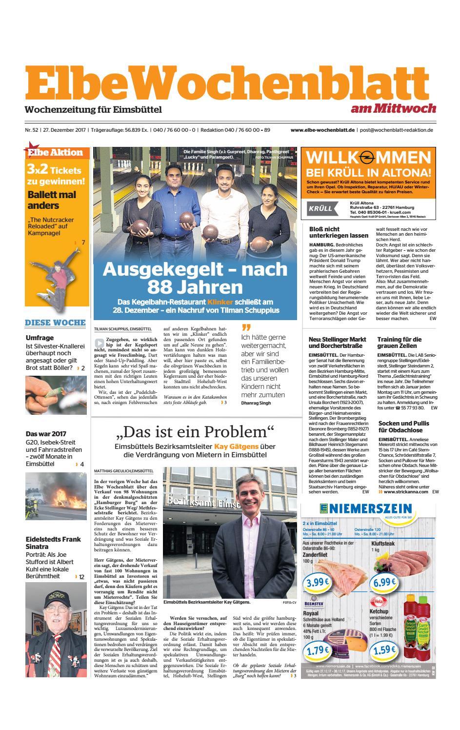 Eimsbüttel KW52-2017 by Elbe Wochenblatt Verlagsgesellschaft mbH ...