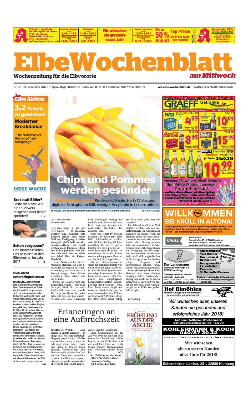 Elbvororte KW52-2017 by Elbe Wochenblatt Verlagsgesellschaft mbH ...