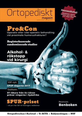 3f212381f56 Ortopediskt magasin 4 2017 by Ortopediskt Magasin - issuu