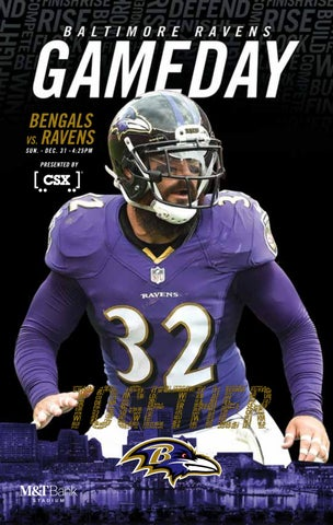 Week 17  Bengals vs. Ravens by Baltimore Ravens - issuu d0a436d99