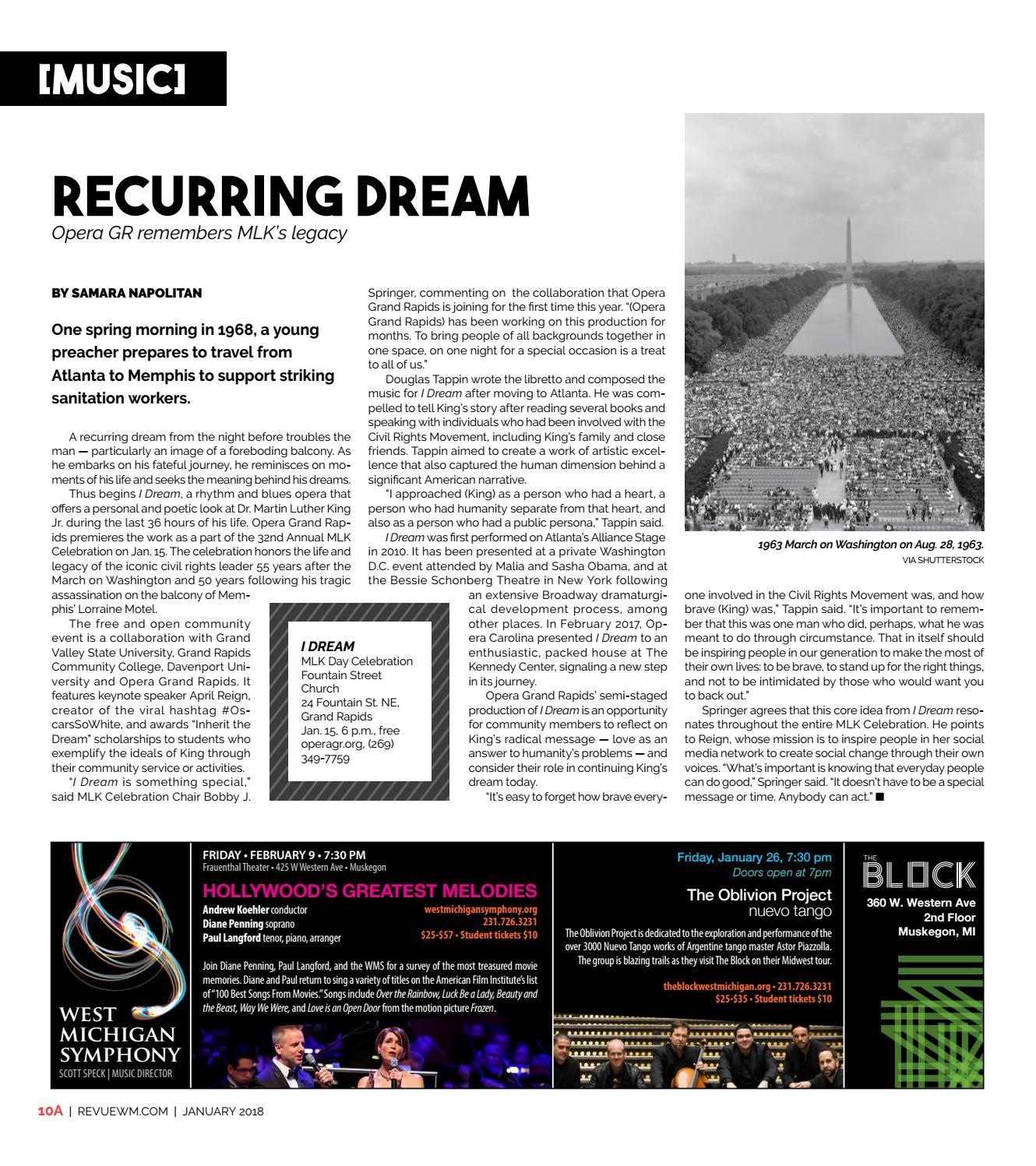 Revue Magazine, January 2018 by Revue Magazine - issuu
