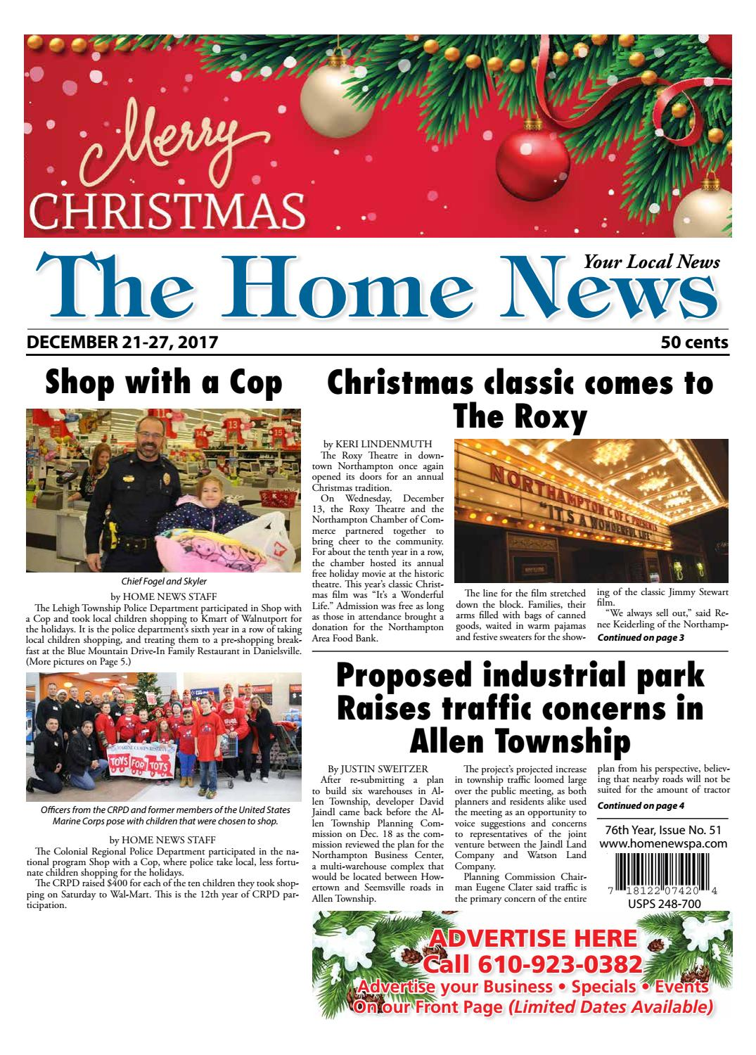 The Home News December 21 by Innovative Designs & Publishing