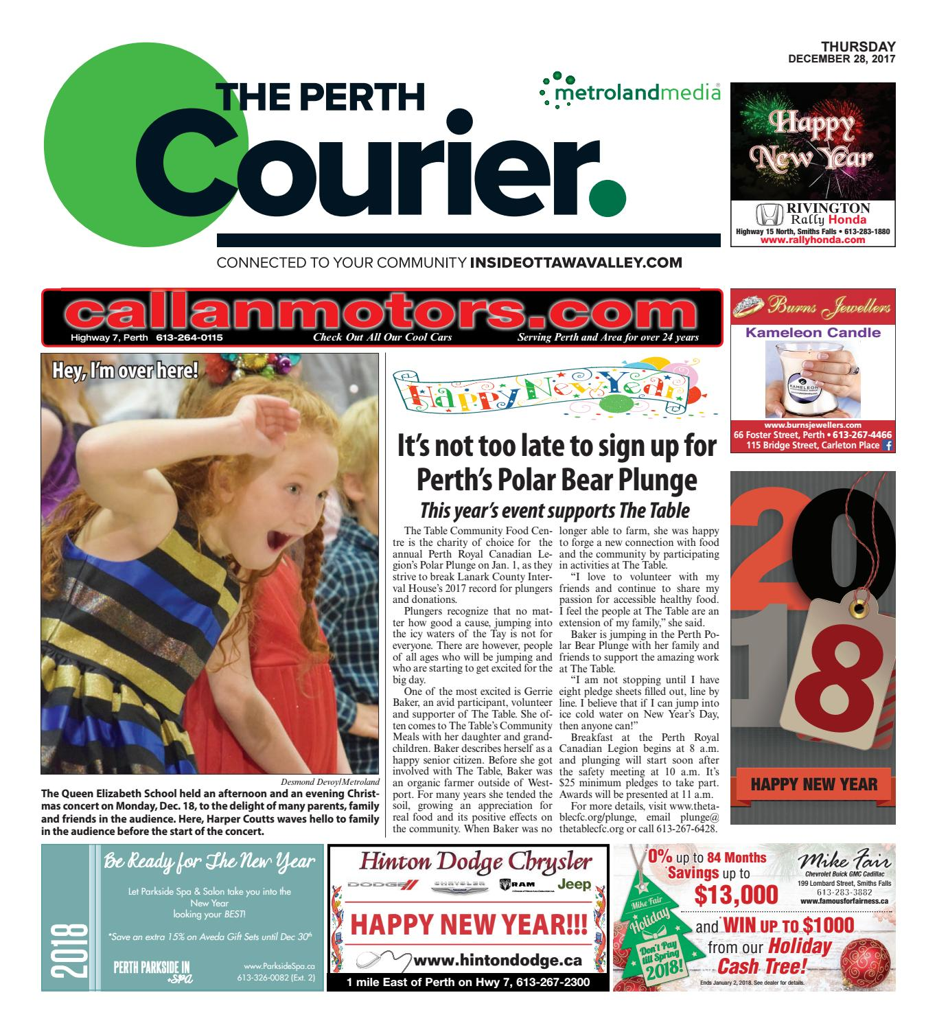 Perth122817 by metroland east the perth courier issuu fandeluxe Image collections