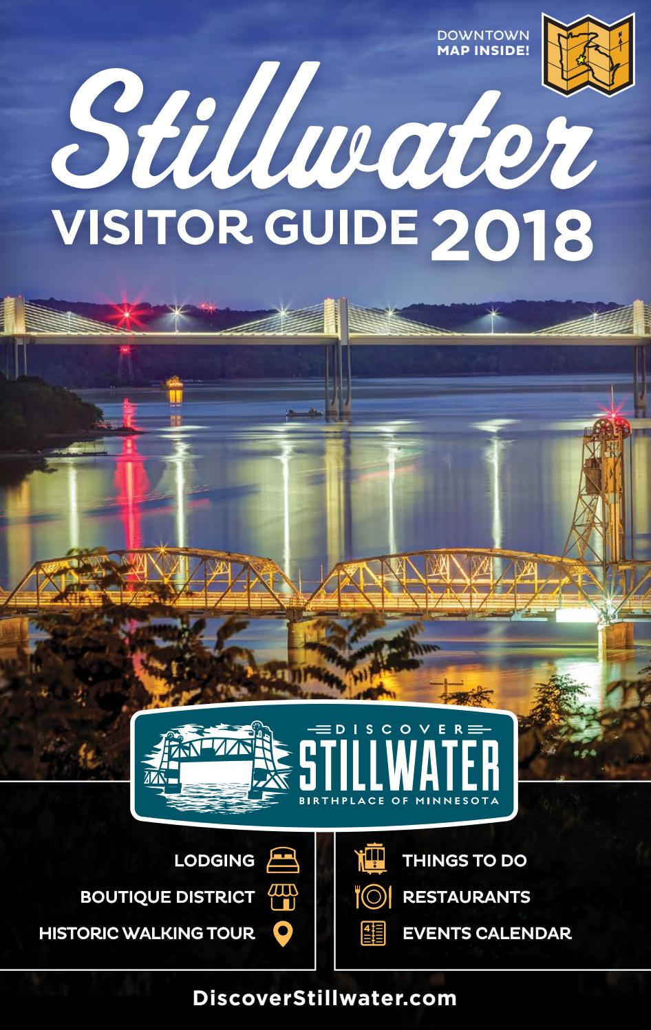 2018 Stillwater Minnesota Visitor Guide By Discover Stillwater Visitor Guide Issuu