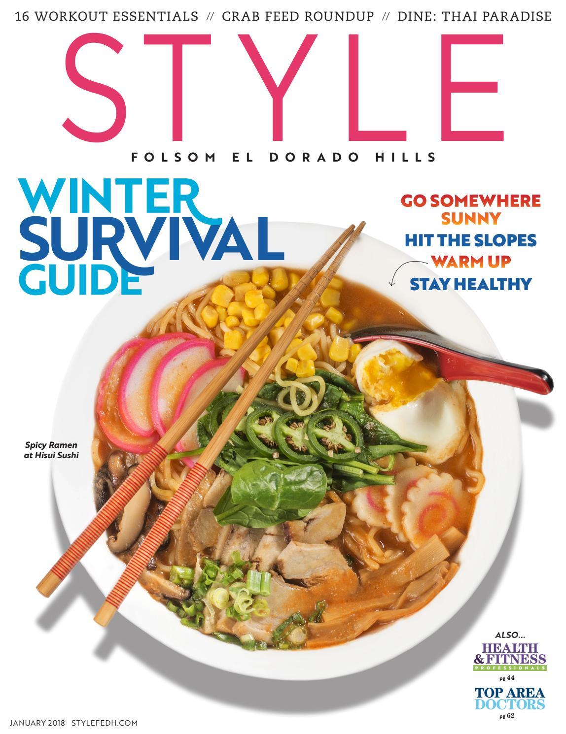 Folsom, El Dorado Hills; January 32 by Style Media Group   issuu