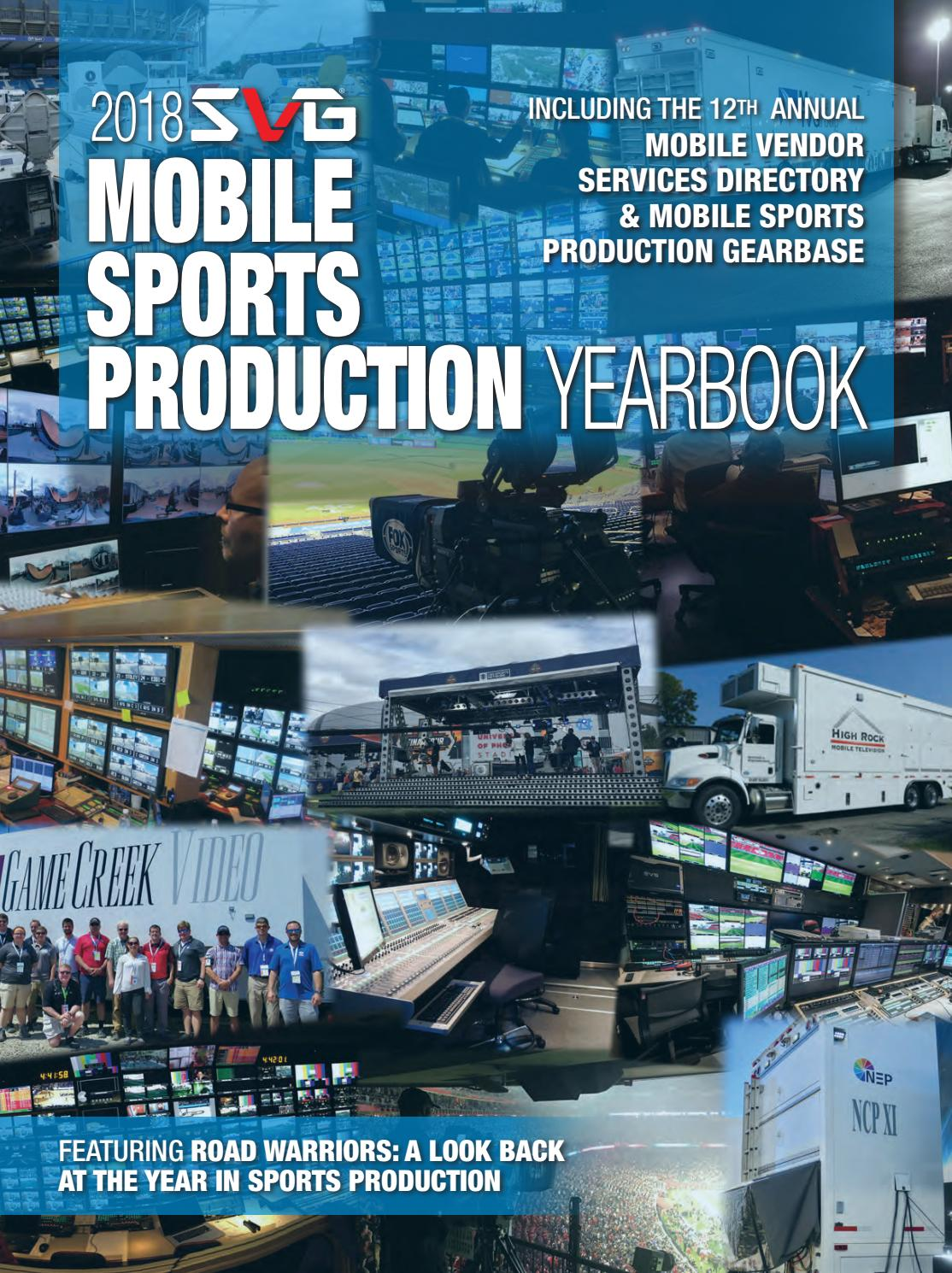 7930a70a07 2018 SVG Mobile Sports Production Yearbook by Sports Video Group - issuu