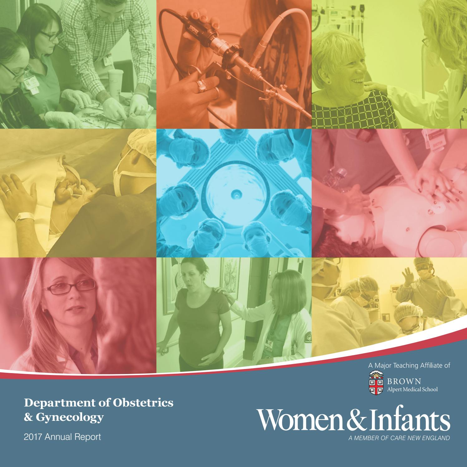Department of Ob/Gyn 2017 Annual Report by Women & Infants Hospital