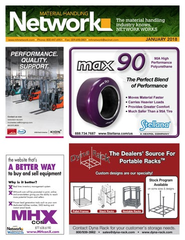 Material Handling Network January 2018 by Material Handling Network