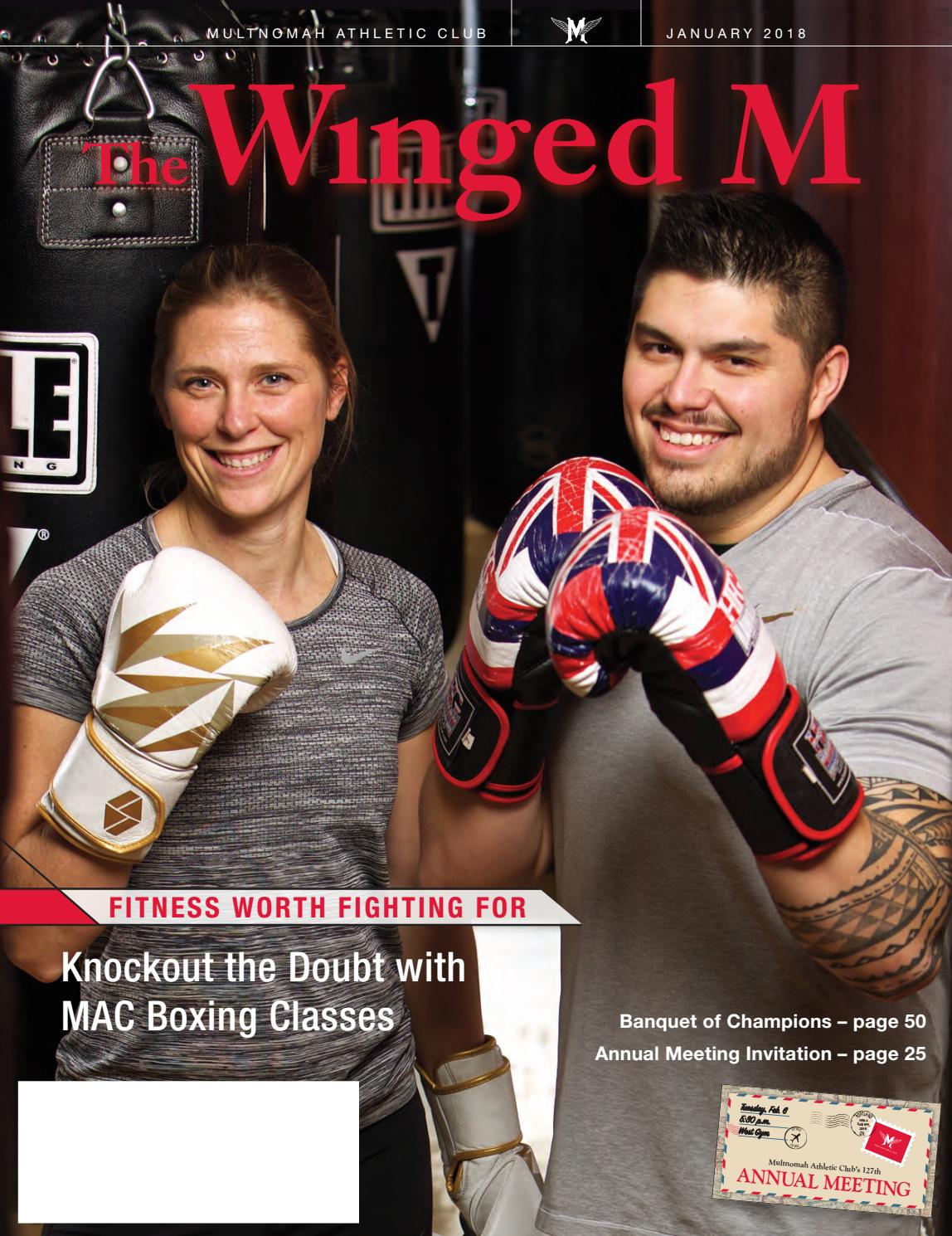 74d99105aa6386 The Winged M, January 2018 by Multnomah Athletic Club - issuu