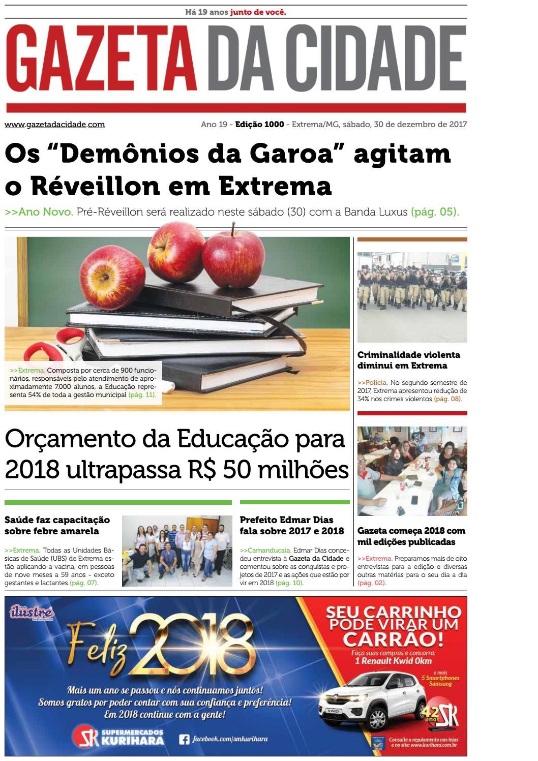 97cf41ee4bd Ed1000 by Gazeta da Cidade - issuu