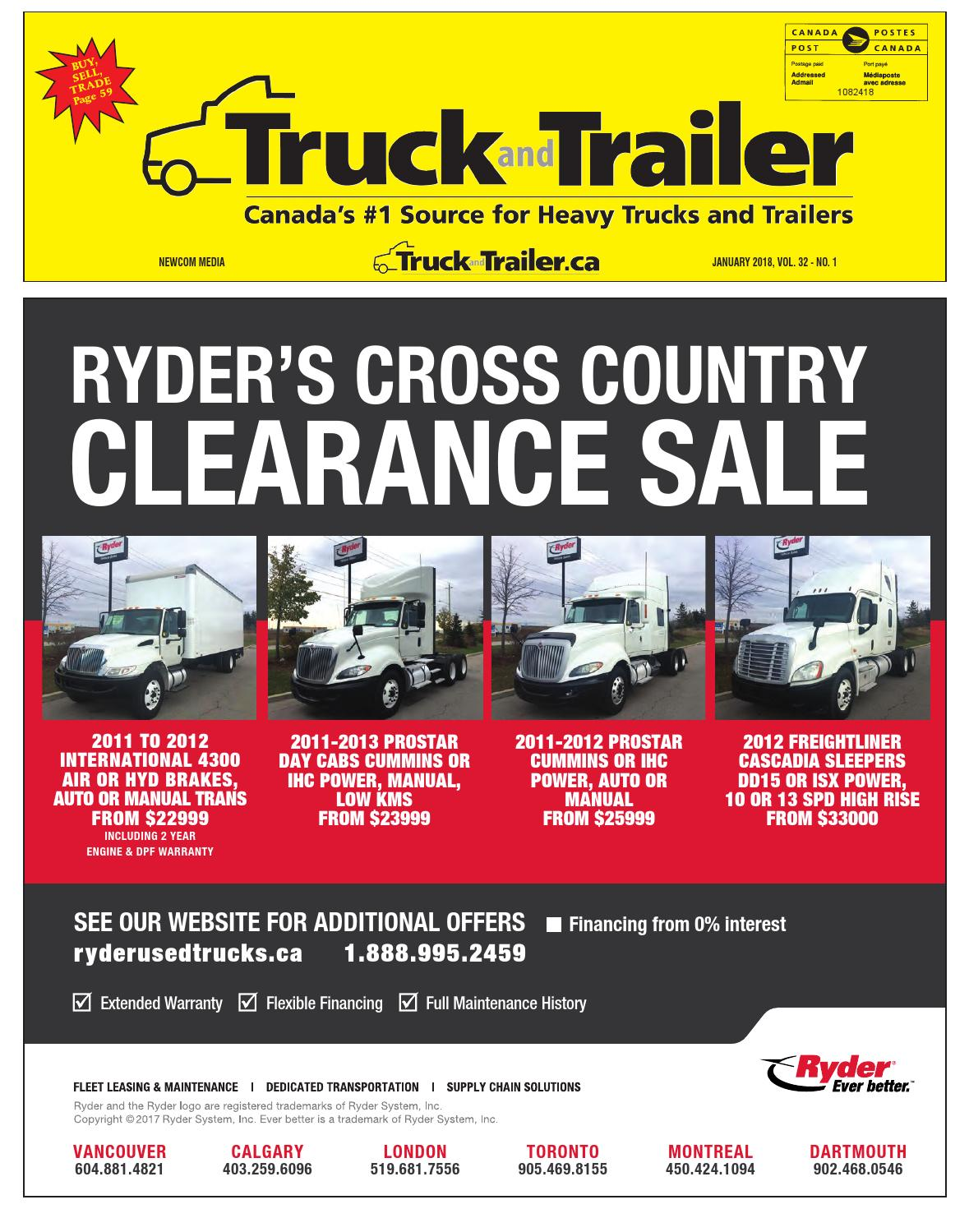 Truck and Trailer January 2018 by Annex Business Media - issuu