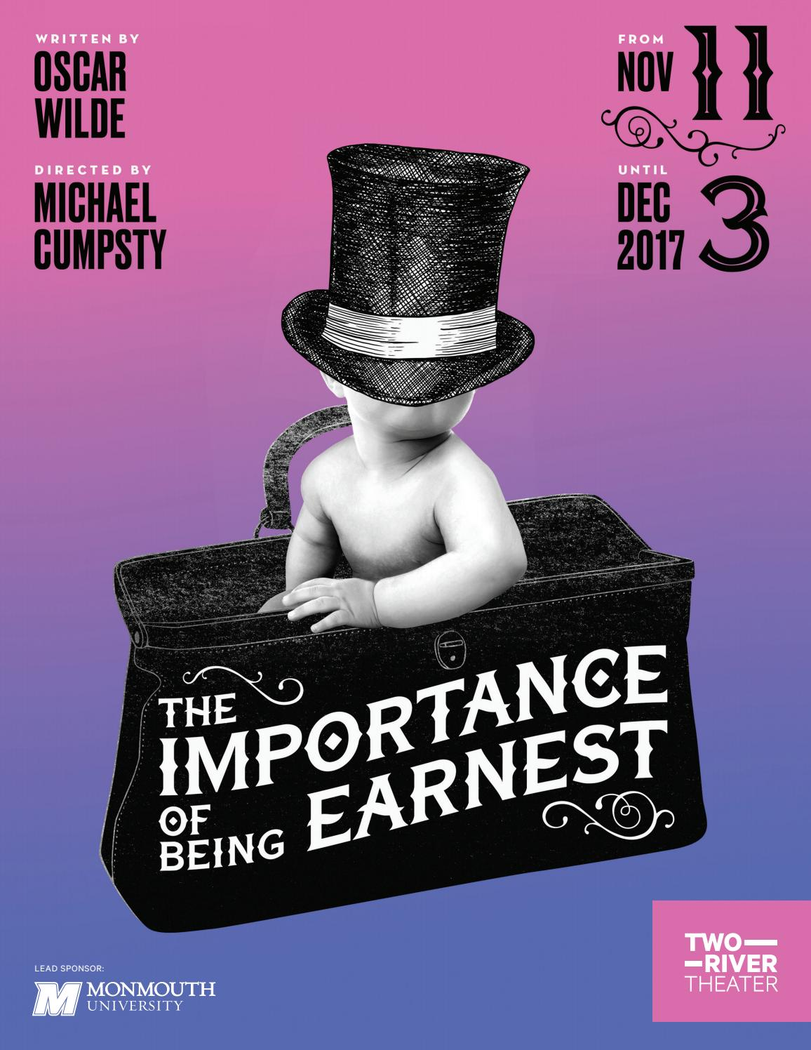 why play importance being earnest still packing theaters t Free oscar wilde importance of being earnest of being earnest helped to revive the theater tradition of of the most important props in the play.