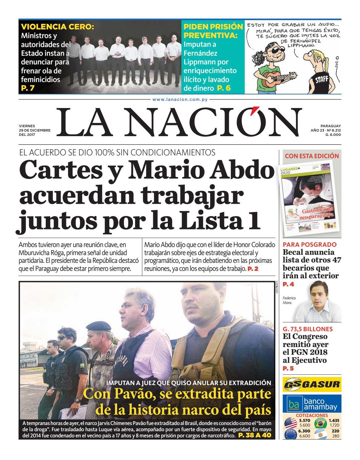 49d2a159d4b DIARIO LA NACIÓN - EDICIÓN - 8.212 by La Nación - issuu