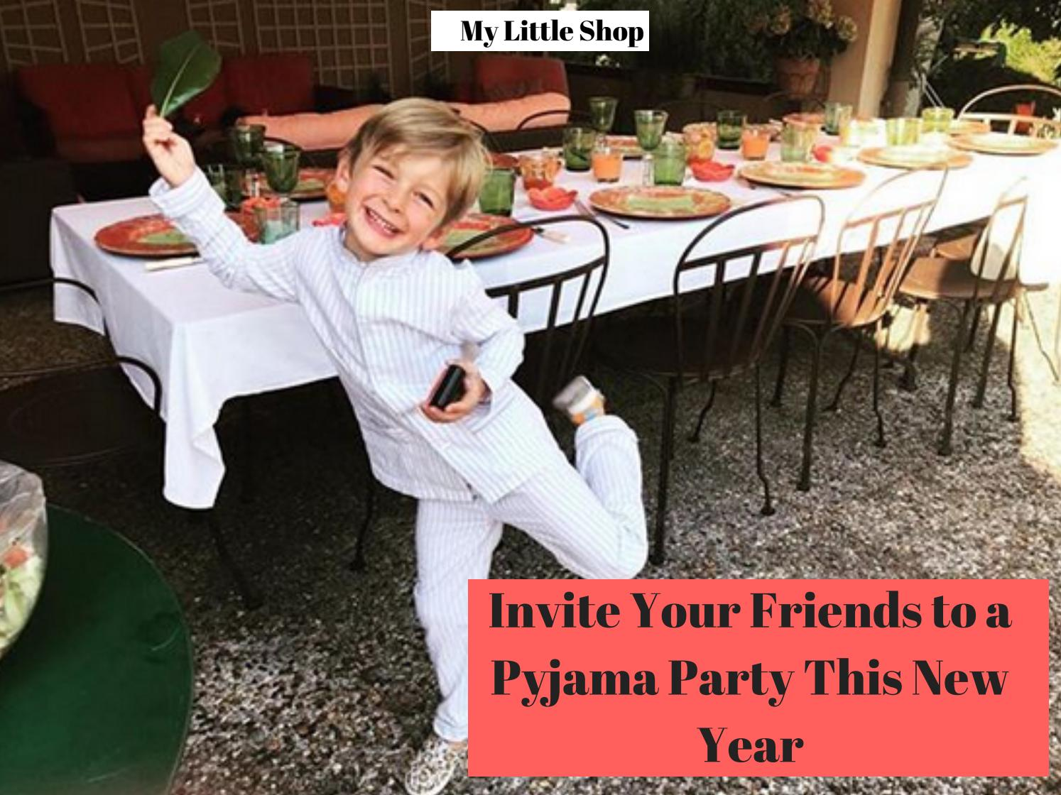 invite your friends to a pyjama party this new year by my little shop issuu