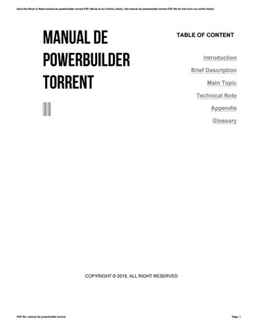 Powerbuilder Books Pdf