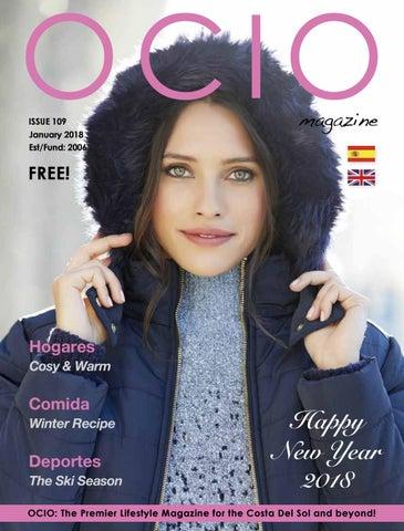 ocio magazine january 2018 by Raymond Watts issuu
