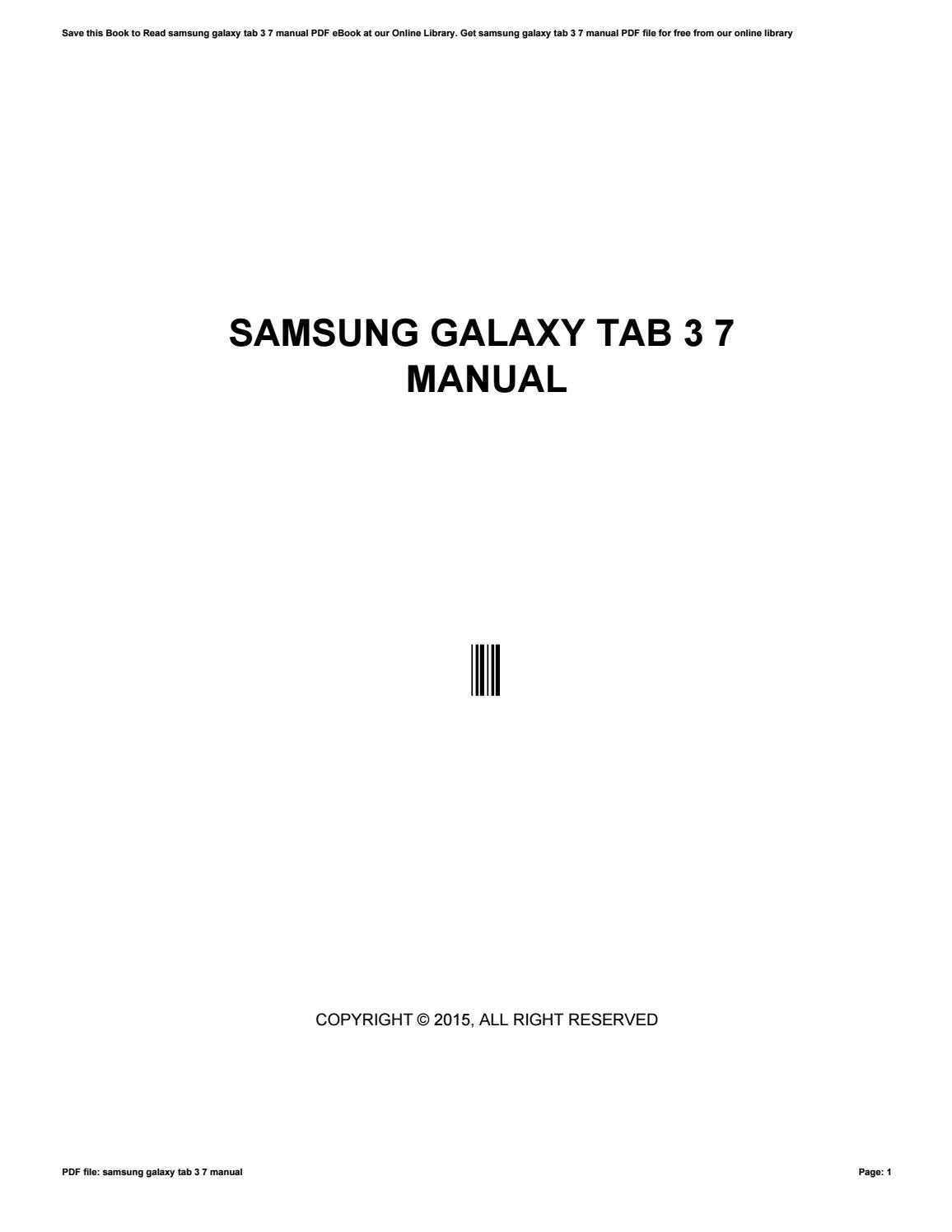 How To Pdf File To Samsung Tablet