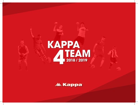 Kappa Teamwear Catalogue 2018 by Dave Kay - issuu