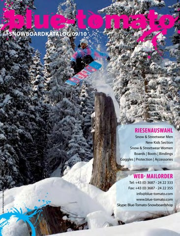 9b1d635c0a Blue Tomato Snowboardkatalog 2009/10 by Blue Tomato - issuu