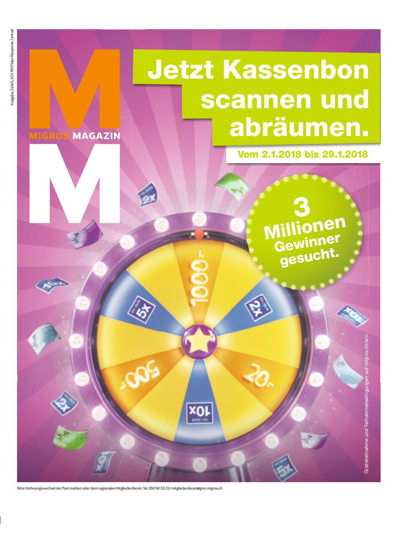Migros magazin 01 2018 d zh by Migros-Genossenschafts-Bund - issuu
