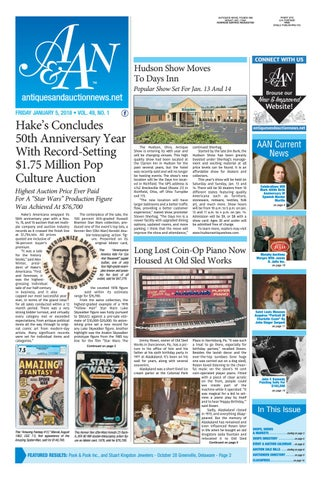 24cf489ffc1 Antiques   Auction News 010518 by Antiques   Auction News - issuu