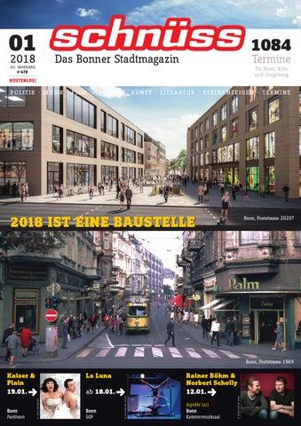 Schnüss 201801 by Schnüss Das Bonner Stadtmagazin issuu