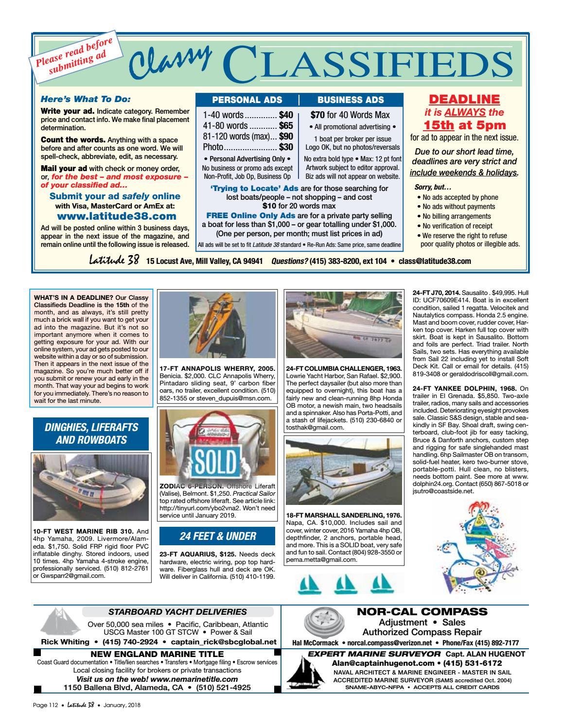 Latitude 38 Jan 2018 by Latitude 38 Media, LLC - issuu