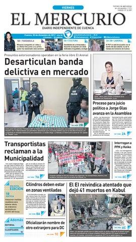 hemeroteca 29-12-2017 by Diario El Mercurio Cuenca - issuu e5304181a5042