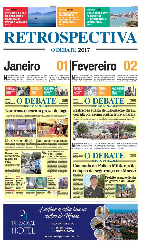 Retrospectiva 2017 by O DEBATE Diario de Macae - issuu 805ad6bb5e